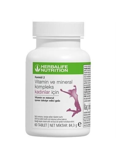 Herbalife Herbalife Formül 2 Vitamin & Mineral Kompleks Kadınlar İçin Renksiz